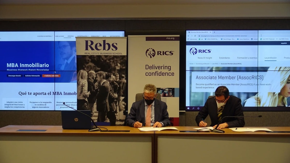 Firma acuerdo REBS entre REBS y Remax - Real Estate Business School